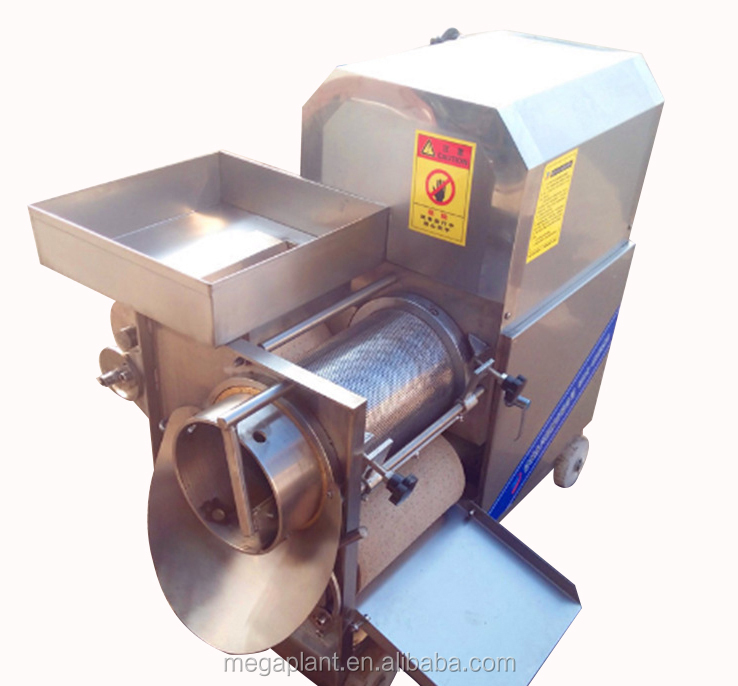 Stainless steel fish minced fillet making machine / fish deboner for sale