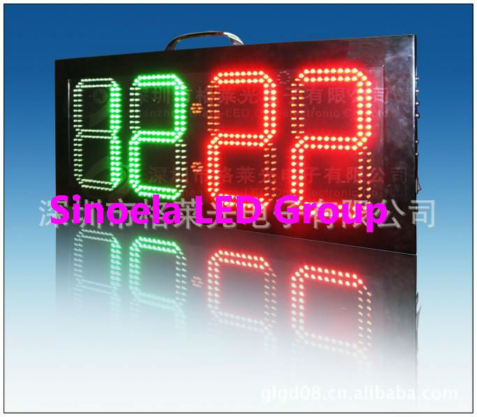 asram two sided LED soccer substitution board, LED football substitution board display supplier,2-sided display