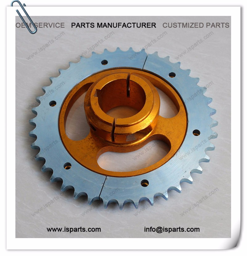 Go kart 41t sprocket with carrier hub