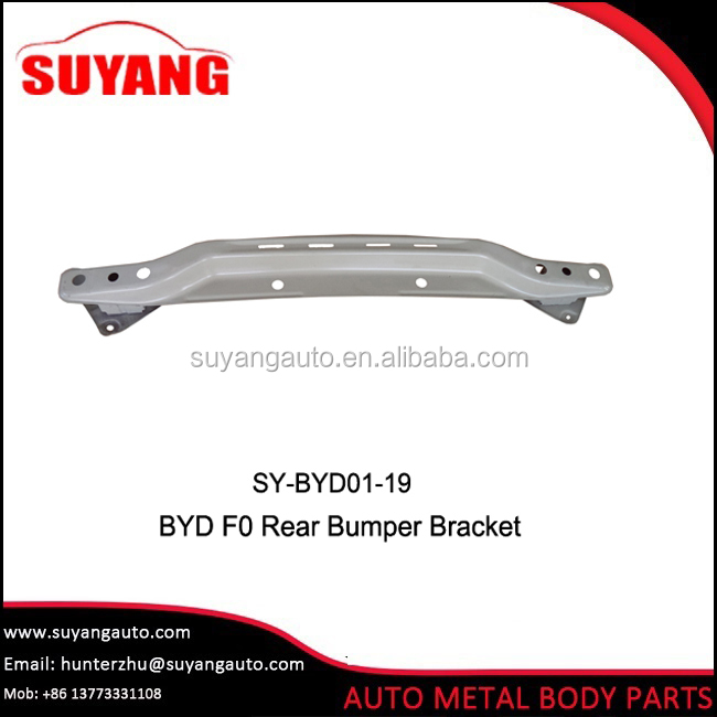 Car accessories steel front bumper bracket for BYD F0 auto body parts