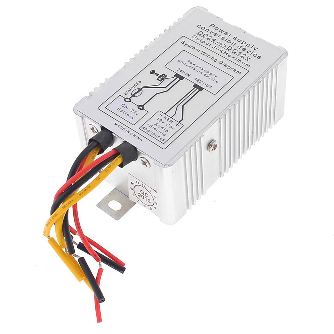 Cheap Transformer 24v 12v Find Deals On Line At To 120v Wiring Diagram Free Picture Get Quotations Uxcell Vehicle Metal 5a Dc 6 Wires Power Supply