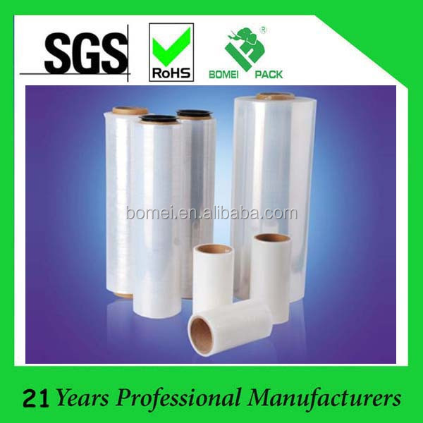 Translucent 50kg high quality stretch film