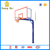 Outdoor gym equipment SMC rebounding metal basketball stand