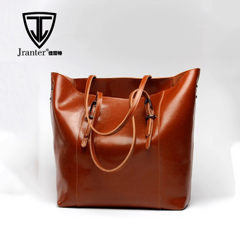 Fashion real leather tote bag for women lady handbags manufactures china