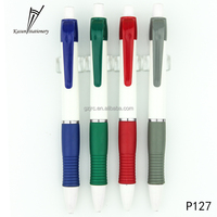 Factory cheap price sale plastic pen with customized logo