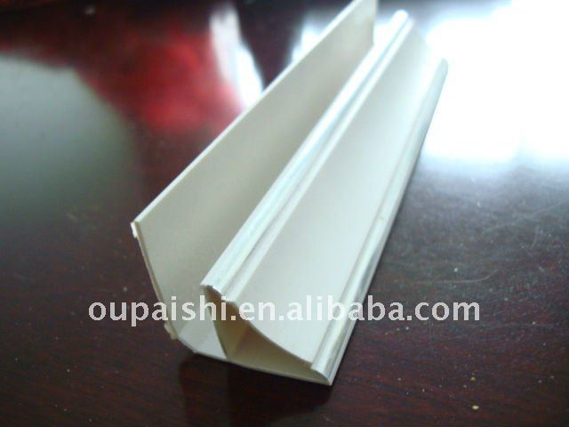Wall and ceiling decoration PVC cornice trim profile
