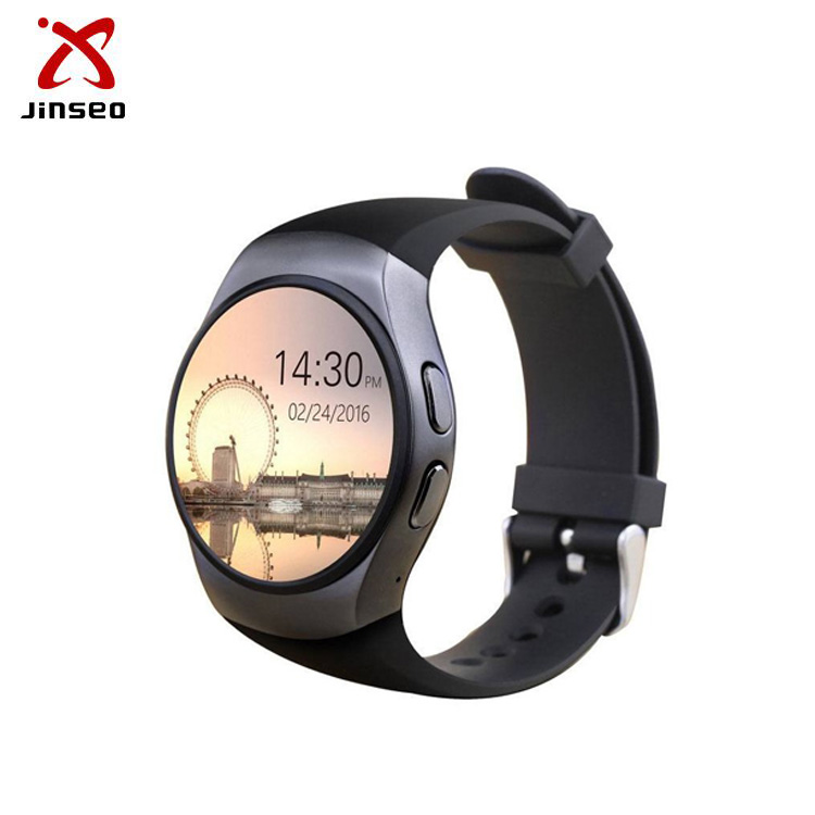 2017 sim card android KW18 smart watch