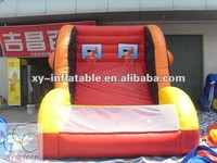 inflatable bungee basketball sport games, funny bungee basketball shoot