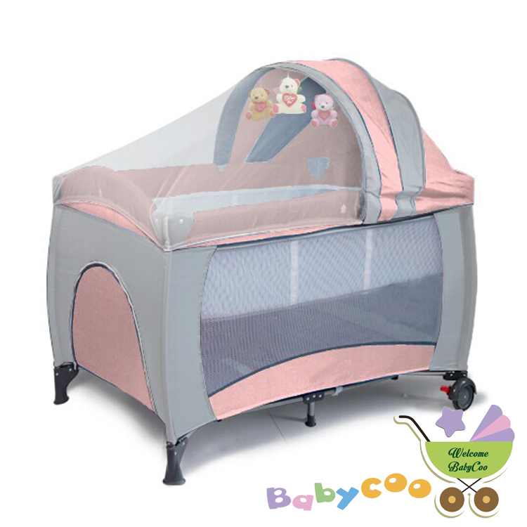 Multi funcional Portable colorido kids playpen
