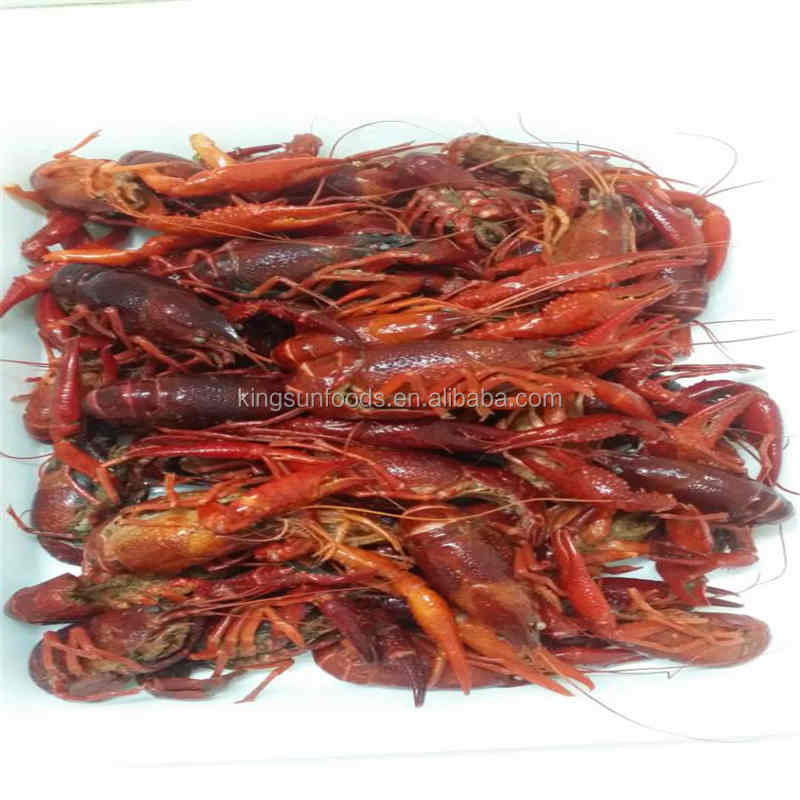 High Quality Frozen cooked Fat-off crawfish TailMeat