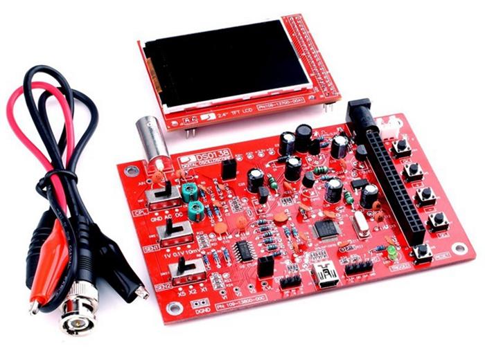DSO138 Fully Assembled 2.4 TFT Screen Digital Oscilloscope