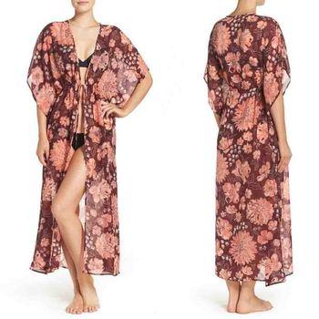 4d55e7e043 Nightgown Women Sleepwear Home Plus Size Women Sleepwear Lounge Robes Women  Printed Sleepwear