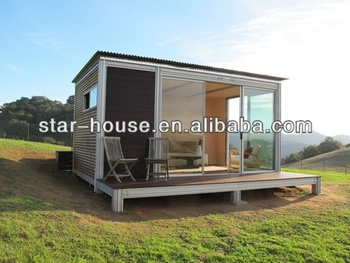 Affordable smart design container homes for restaurant for Smart house container