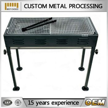 Barbecue Grill,homemade Barbecue Or Garden Charcoal Bbq Grill