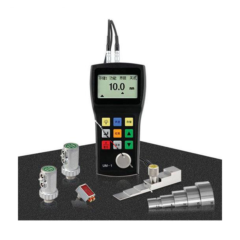 Digital LCD display show ultrasonic thickness gauge