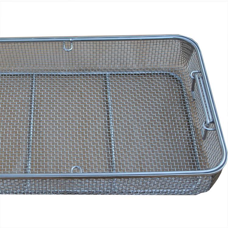 SGS проволочная сетка из нержавеющей стали медицинская корзина для стерилизации/лоток