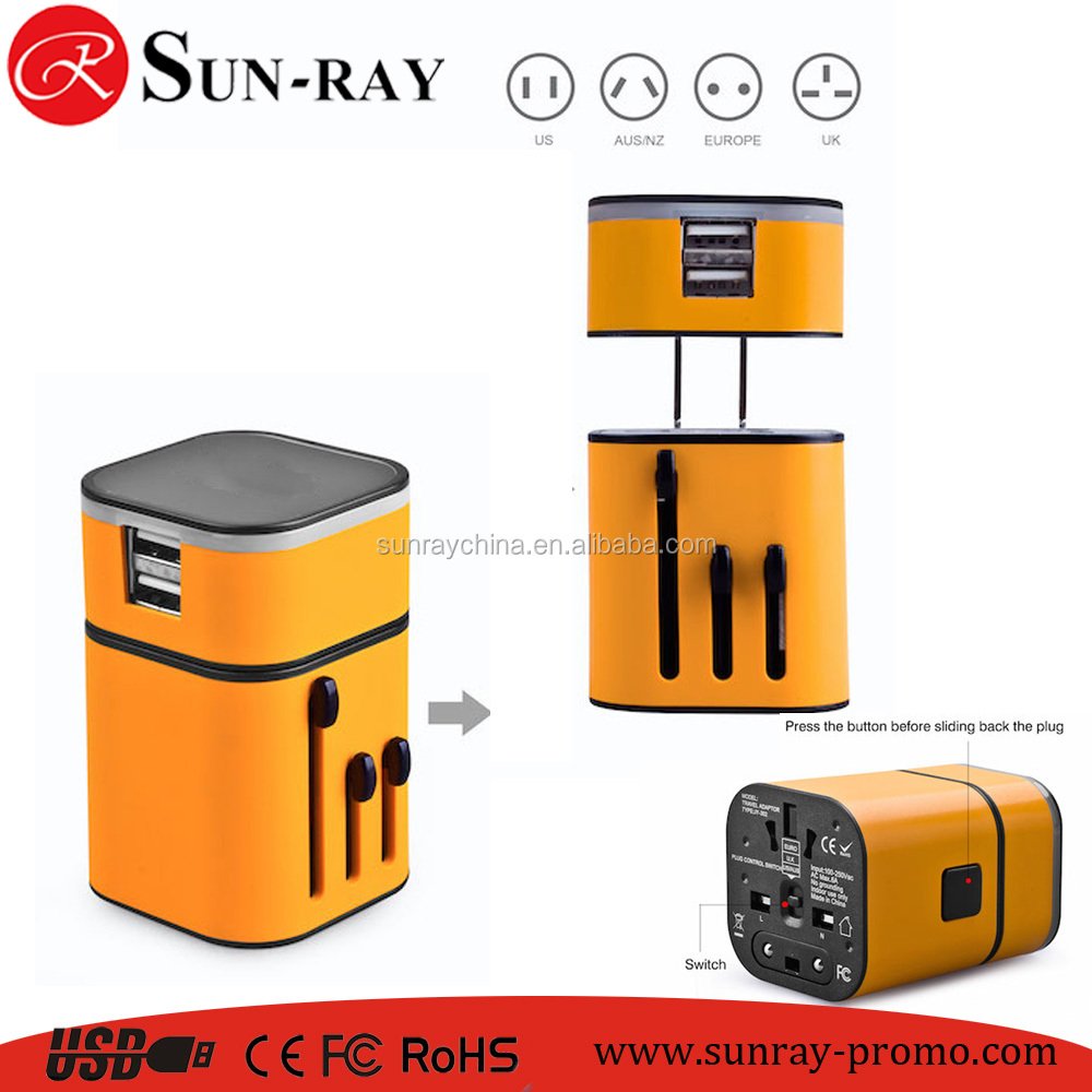 overcharge protect safety travel adapter electric travel plug mini creative plug adaptor