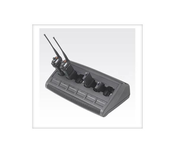 6 Units Two Way Radio Charger for Motorola GP328,GP338, GP series