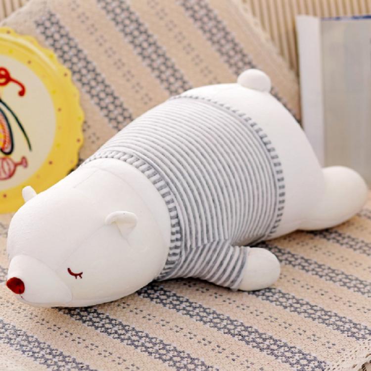 Tốt nhất thực hiện dễ thương gấu mềm nhồi bông bọt sang trọng gấu bắc cực đồ chơi