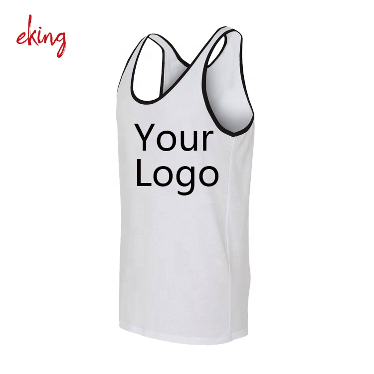 3 Pack Mens 100/% Cotton Singlet Sleeveless Vests in Mixed Blues or White
