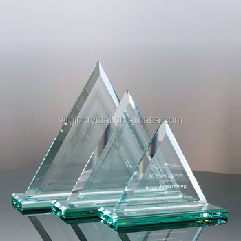 Promotional Blank Jade Glass Pyramid Trophy - Buy Glass Pyramid Trophy,Jade  Glass Pyramid Trophy,Blank Glass Trophy Product on Alibaba com