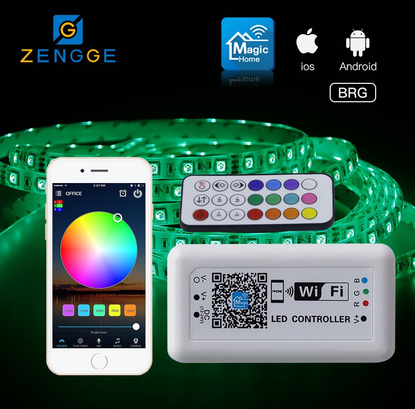 Free APP!best new products WiFi led dimmer switch for remote control for led headlight strip