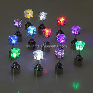 factory led earrings with batteries cheap star led earring