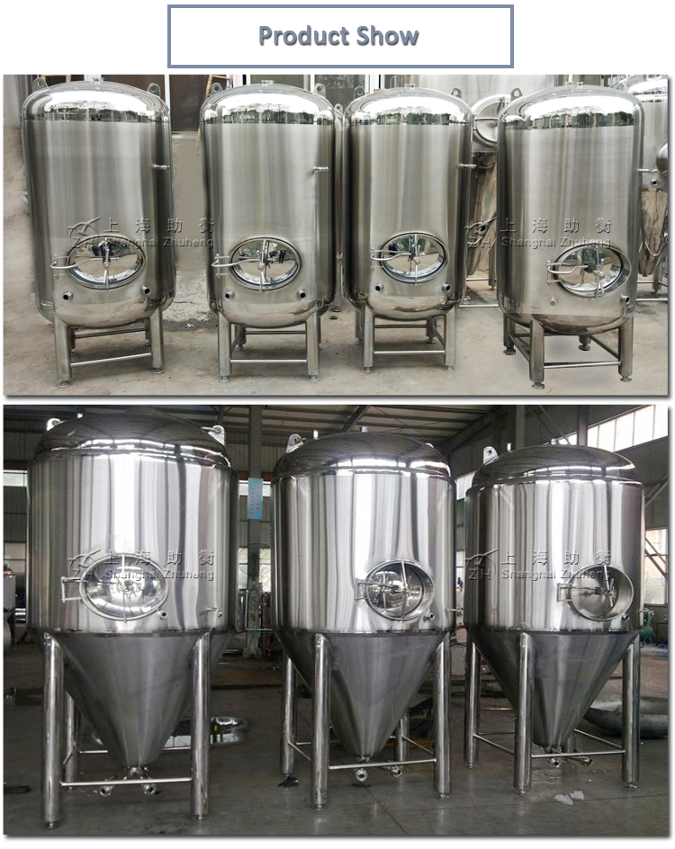 Stainless steel 50000l stainless steel wine tank 1000l used beer and wine fermentation tank tanks