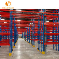 Fashionable and generous mezzanine floor warehouse storage rack van racking system