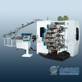 Offset printing machine for 8-color