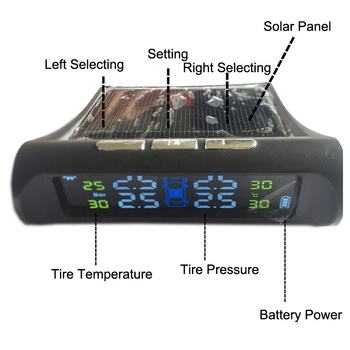 Solar Charged Vehicle Tools TPMS for Car With Low Price