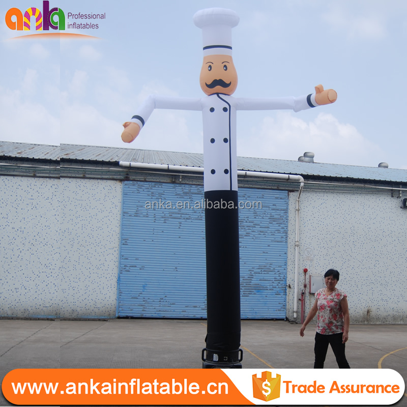 Chef inflatable air dancer (air puppet, sky dancer, ANKA)