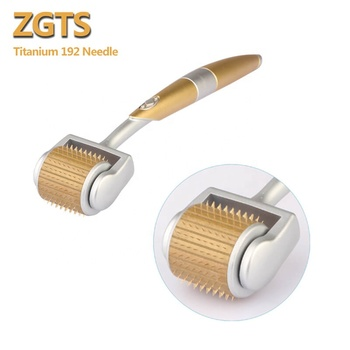 ZGTS 192 Derma Roller Titanium Micro Needle Roller Acne Scars Freckle Skin Meso Roller