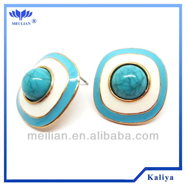 STUD EARRINGS WHOLESALE YIWU CHINA TOWN