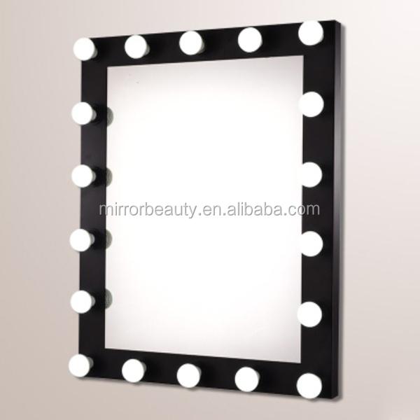 2015 venta caliente de hollywood de maquillaje espejo con for Espejo para maquillarse