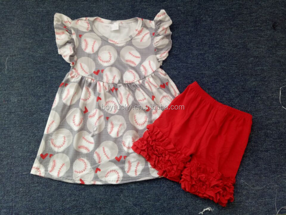 Baby-outfits kinder kleidung Baby Mädchen sommer boutique outfit