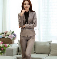 2015 Top quality ladies office formal wear women business suit