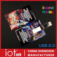 Print LOGO 1gb 2gb 4gb 8gb 16gb 32gb business credit card usb memory stick flash drive