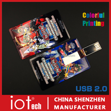 Print LOGO 1gb 2gb 4gb 8gb 16gb 32gb business credit card usb memory stick flash drive