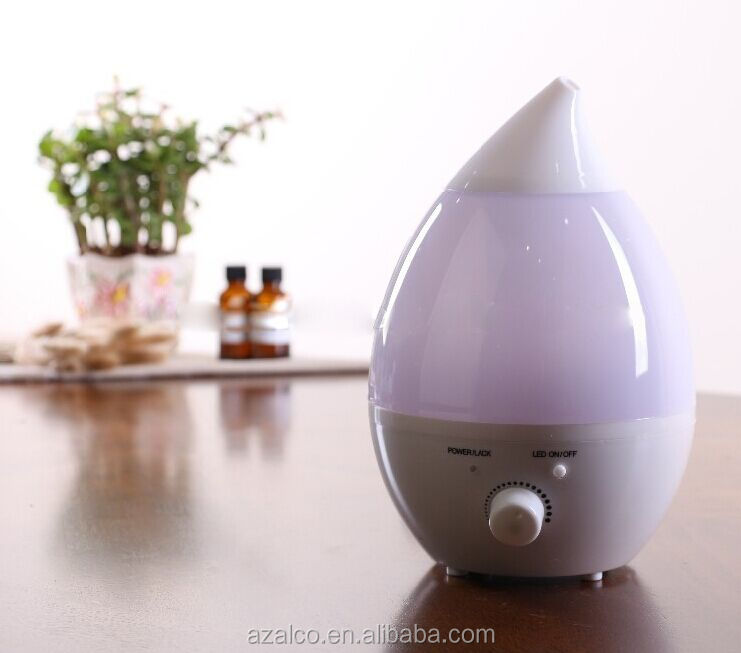 Factory wholesale LED colour changing ultrasonic humidifier cool mist maker for home and office