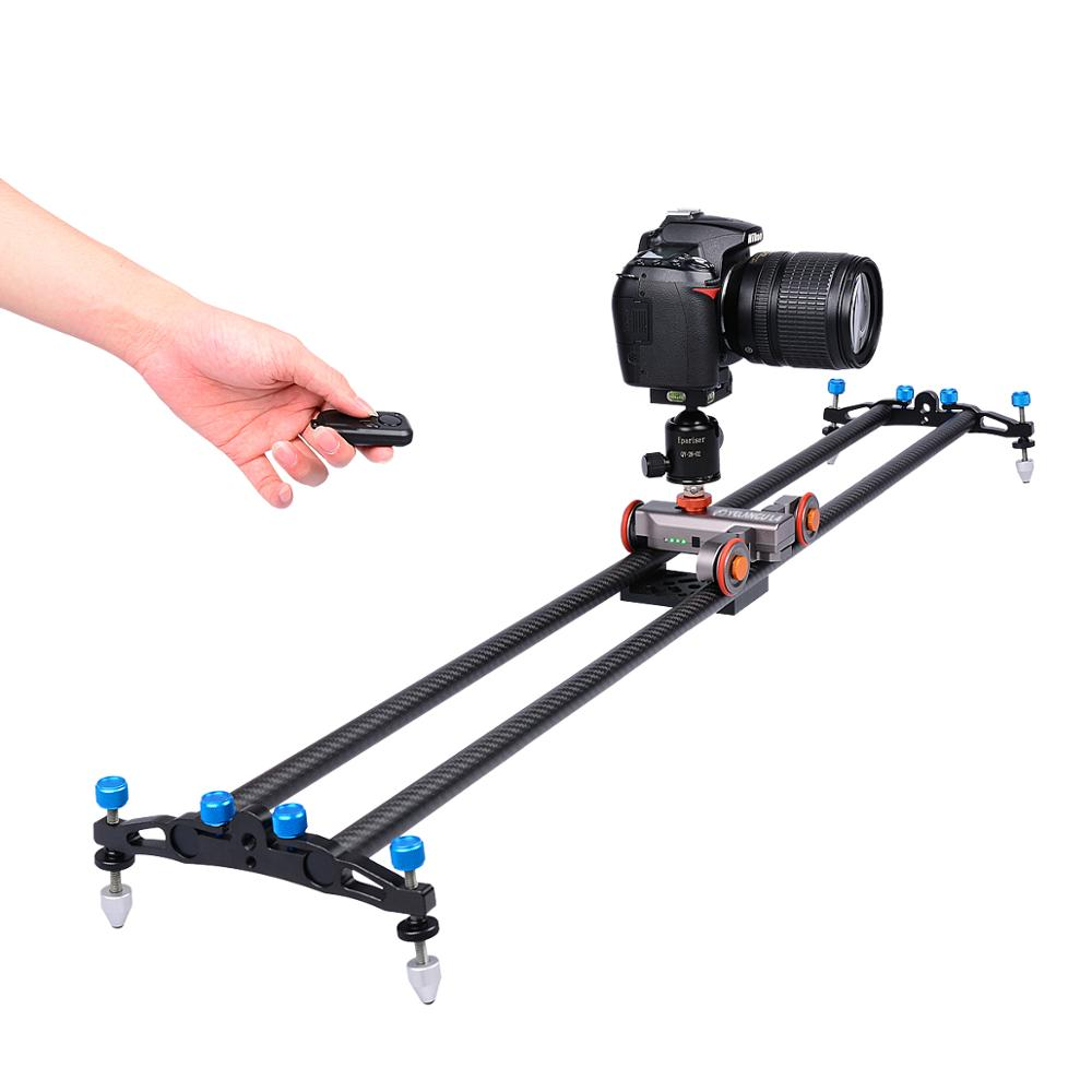 Yelangu Newest the Second Generation L4 Remote Control Small Motor Car Camera Slider for DSLR