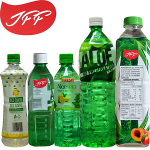 Best fresh soft sugar free Aloe Vera Beverage 500ml, Pomegranate flavor aloe beverage from Shanghai Factory