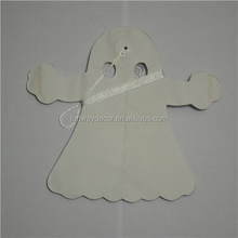 Wholesale Ghost Tissue Paper Garland with 3m length For Halloween Festival Decoration Paper Tassel Garland Ghost