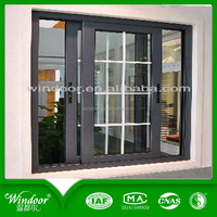 Wrought Iron Desitn PVC Window Security Window