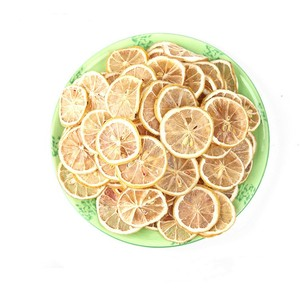 sour and sweet dried lemon slices for camping