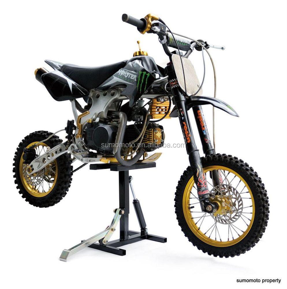 hydraulic moto stand dirt bike h stand off road enduro motocross bike lift damping system. Black Bedroom Furniture Sets. Home Design Ideas