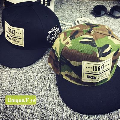 Brand New DGK Snapback Caps Flat Hip Hop Baseball Cap Casquette Gorras Hat Adult Camouflage Adjustable