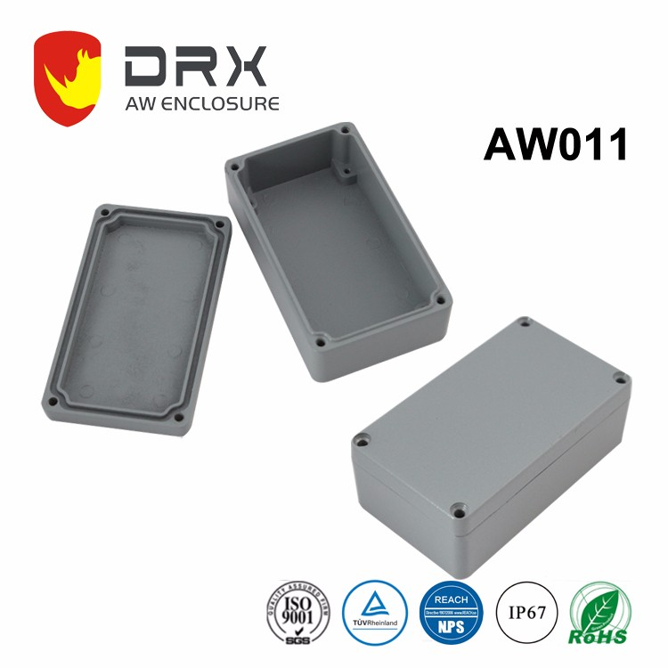 DRX 2018 IP67 New design Customizable stainless electronic aluminum waterproof enclosure