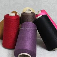 Lot stock competitive price raw silk material pvc coated sari silk yarn