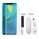 Hot New Model Full Adhesive UV Glue Tempered Glass 3D Curved Edge Screen Guard for Huawei Mate 20 Pro